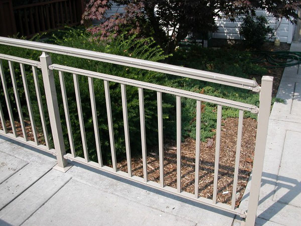 Allegheny fence railings superior tan 4 solutioingenieria Image collections