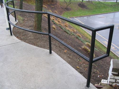 Allegheny Fence, Railings
