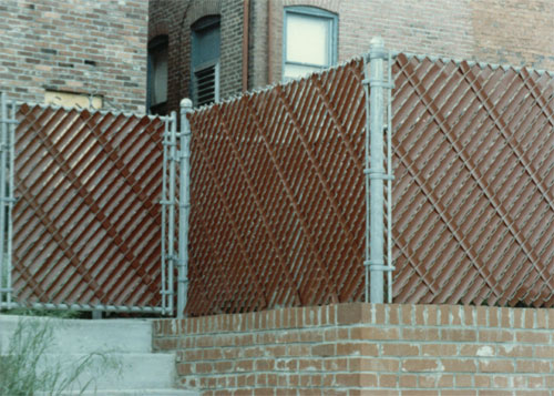 Allegheny Fence Chain Link Fence Screen