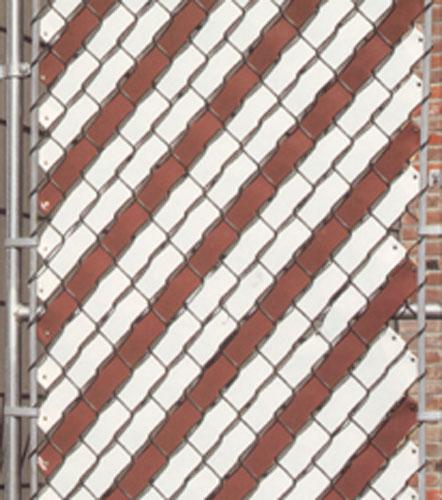 Fence weave pexco autos post