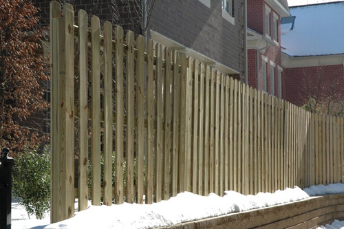 How do i build a shadowbox wood fence? - Yahoo! Answers