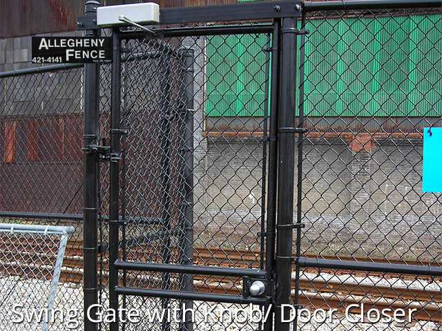 Pittsburgh industrial chain link fencing, Allegheny Fence