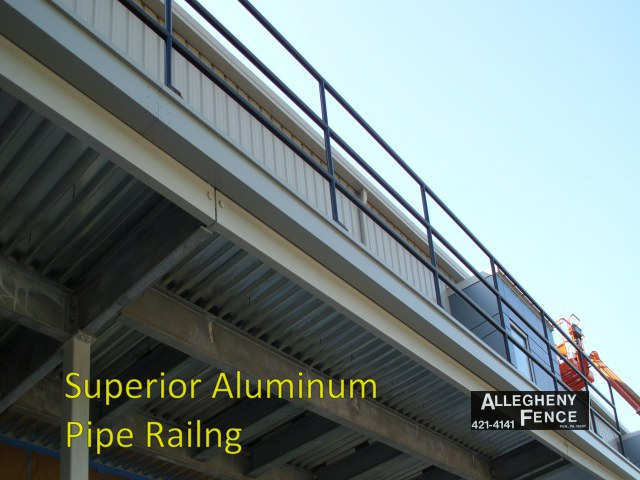 Superior Aluminum Pipe Railing