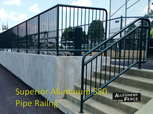 Superior Aluminum 550 Pipe Railing