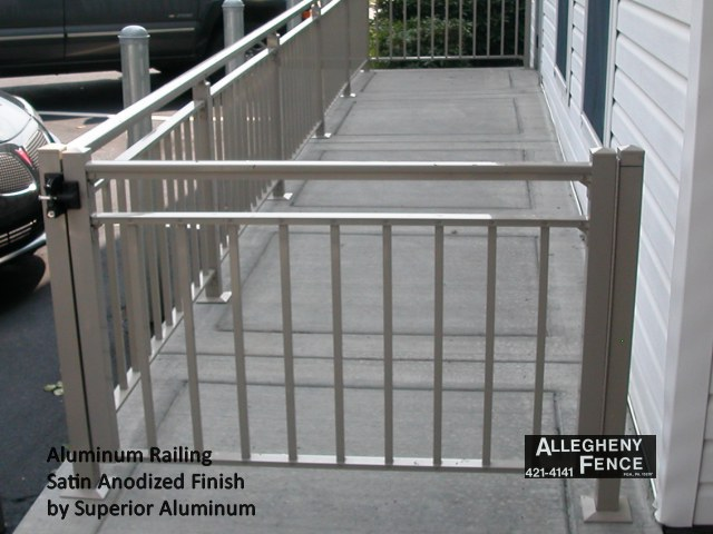 Aluminum Railing Satin Anodized Finish by Superior Aluminum
