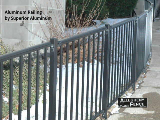 Pittsburgh Industrial Railings And Columns Allegheny Fence
