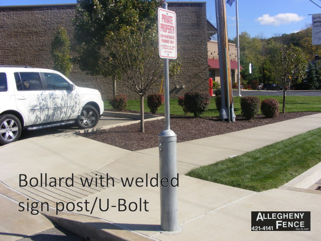 Pittsburgh Bollard Covers And Steel Posts Allegheny Fence