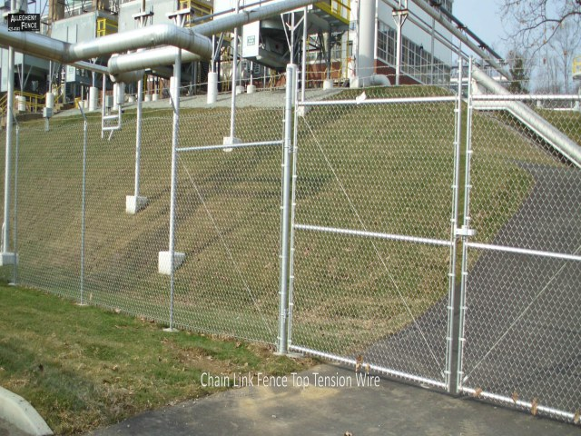 Chain Link Fence Top Tension Wire