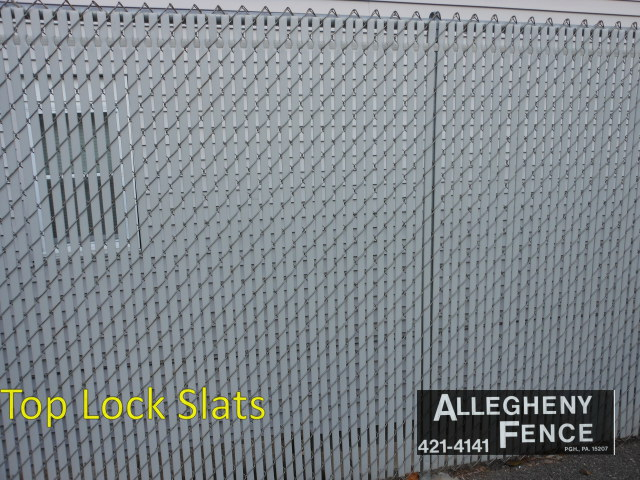 Pittsburgh Industrial Chain Link Fence Screen Amp Slats
