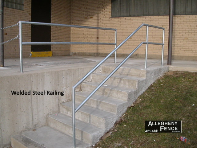 Welded Steel Railing