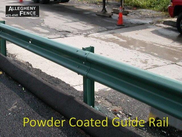 Powder Coated Guide Rail