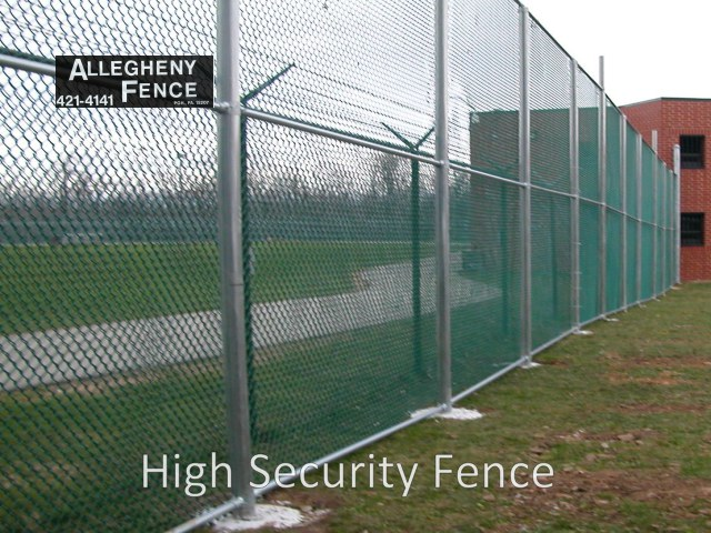 Pittsburgh Industrial Chain Link Fencing Allegheny Fence