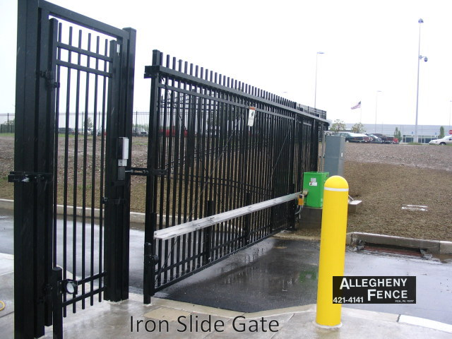 Iron Slide Gate