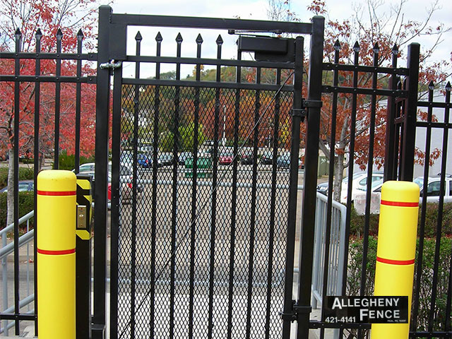 Iron Single Swing Gate