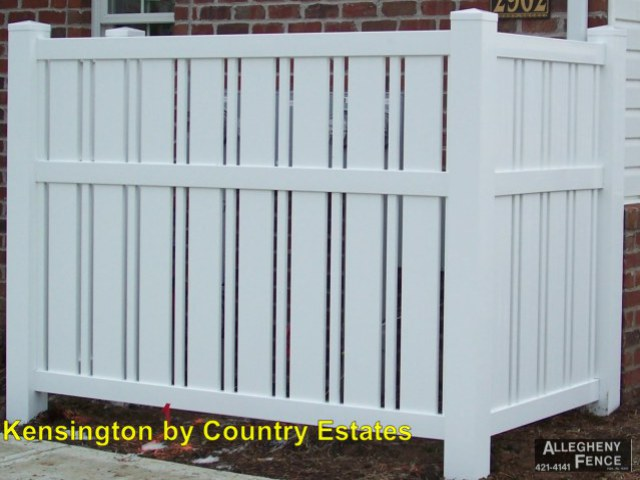 Pittsburgh Industrial Pvc Fencing Allegheny Fence