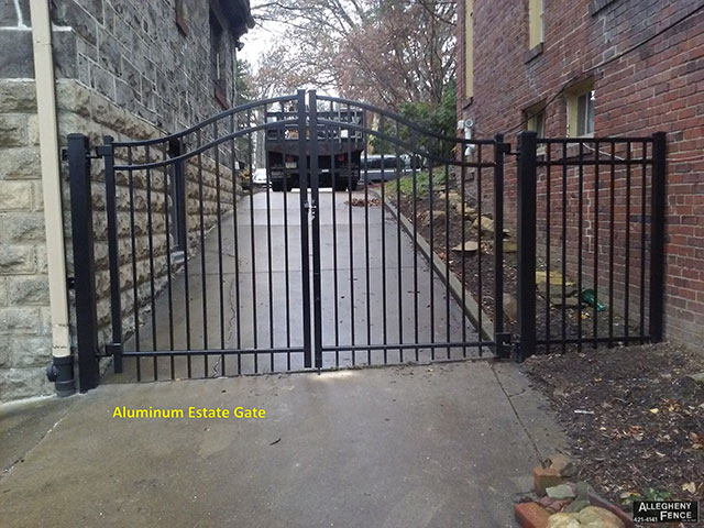 Aluminum Estate Gate