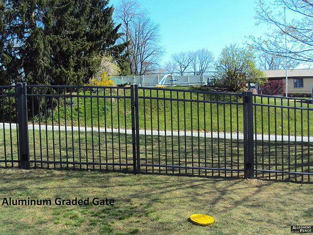 Aluminum Graded Gate