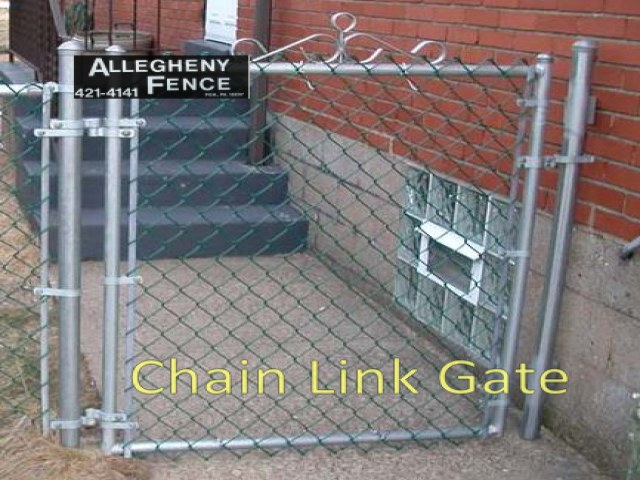 Chain Link Gate 1