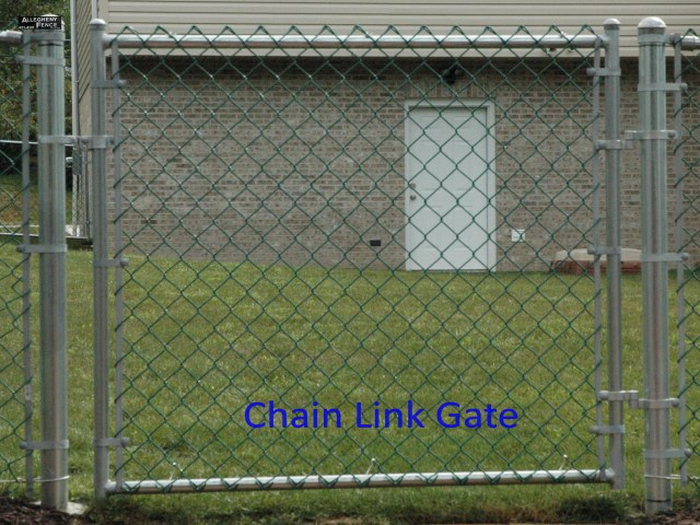 Chain Link Gate 2