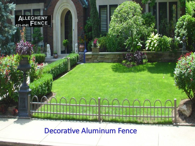 Decorative Aluminum Fence