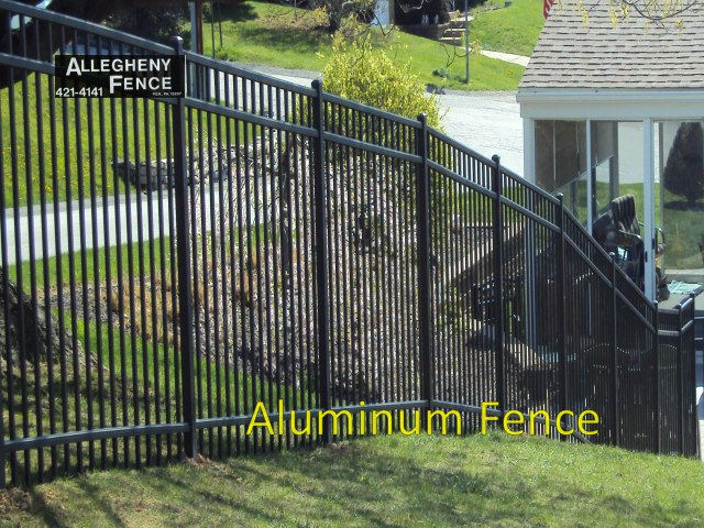 Pittsburgh Residential Ornamental Aluminum Fencing