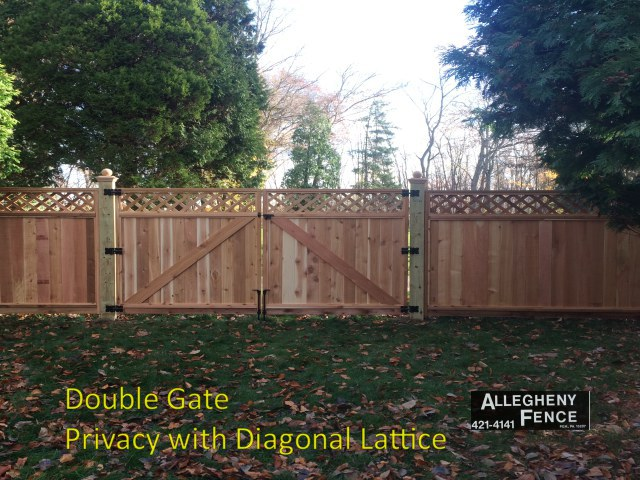 Double Gate Privacy with Diagonal Lattice