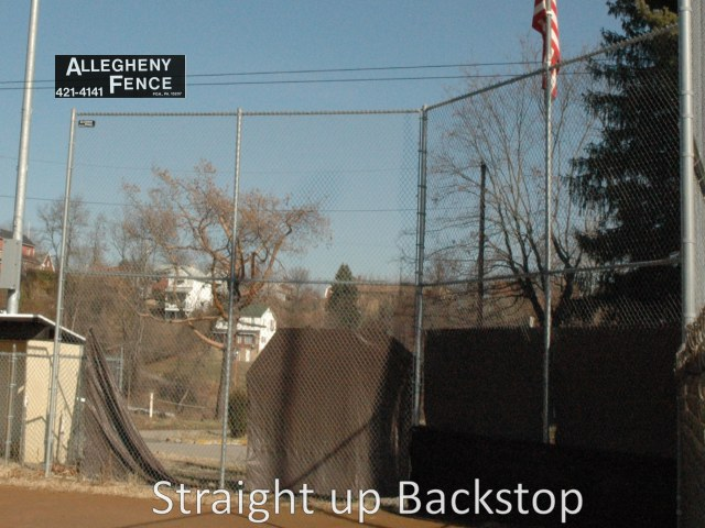 Straight up Backstop